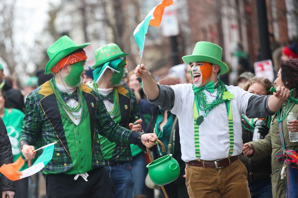 Boston possui o maior desfile de Saint Patrick's Day do mundo