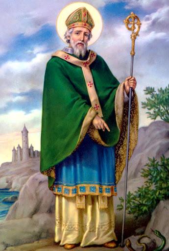 Saint Patrick (ou São Patrício) é padroeiro da Irlanda
