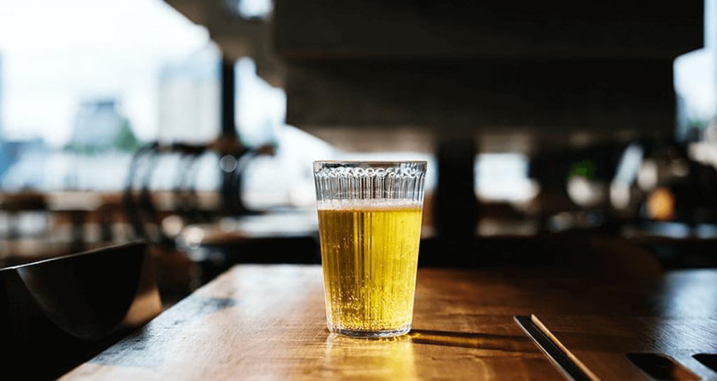 O copo de cada cerveja
