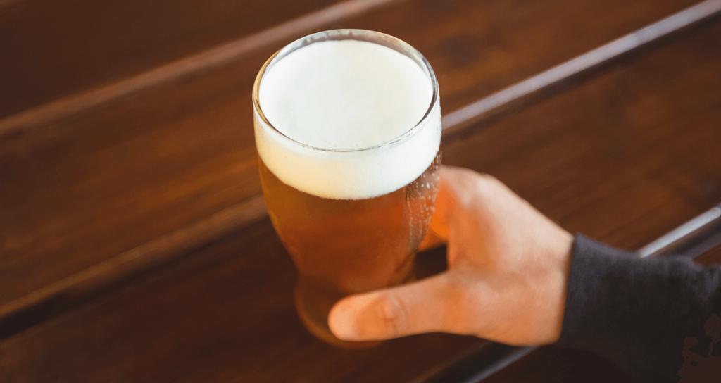 degustar cerveja