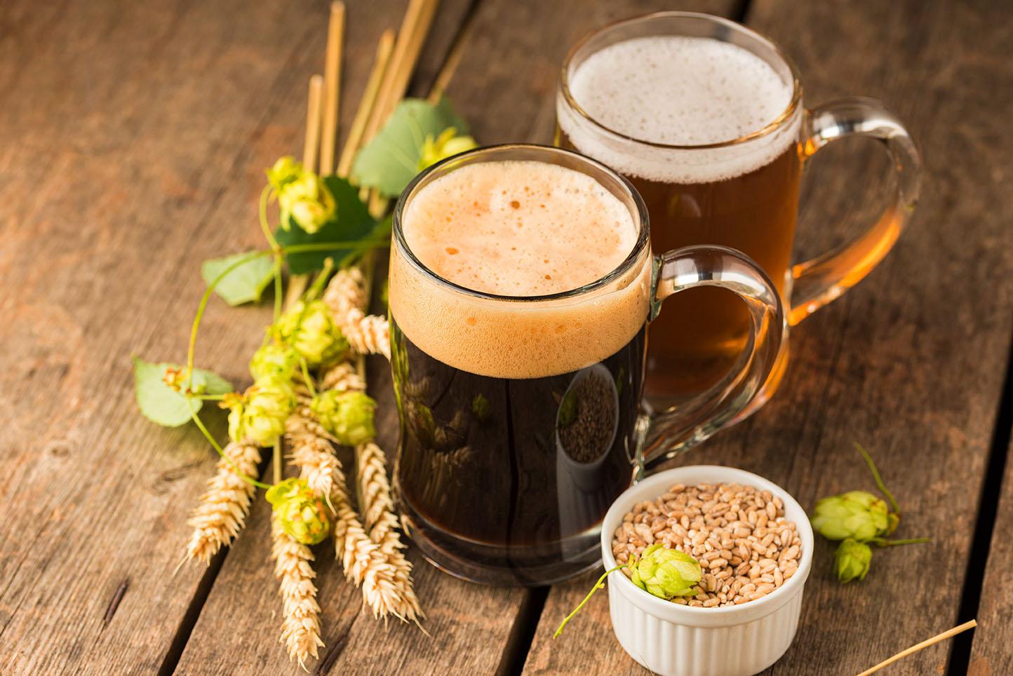 Todos os ingredientes são premium para entregar as melhores cervejas