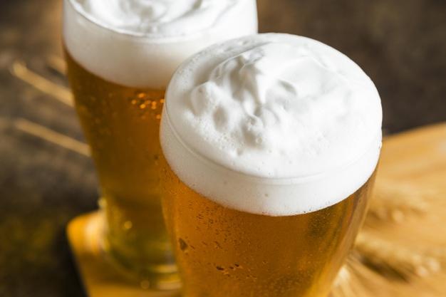 A carbonatação ajuda a ressaltar os aromas e sabores da cerveja
