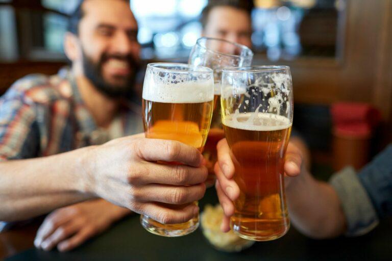 degustação de cerveja