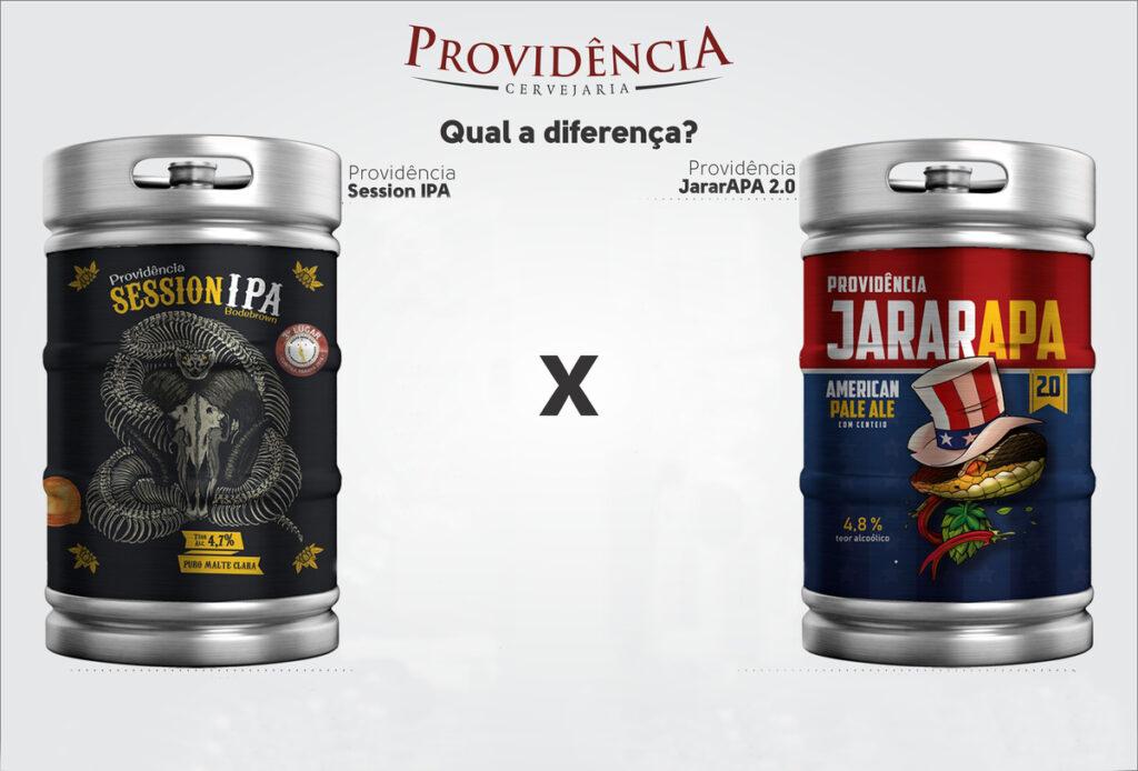 diferença entre a cerveja session ipa e jararapa 20